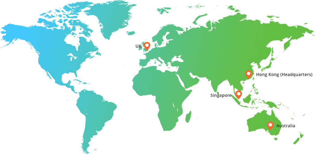 Gravity Supply Chain offices across the world